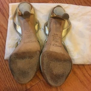 Jimmy Choo Shoes - Jimmy Choo Gold Heels
